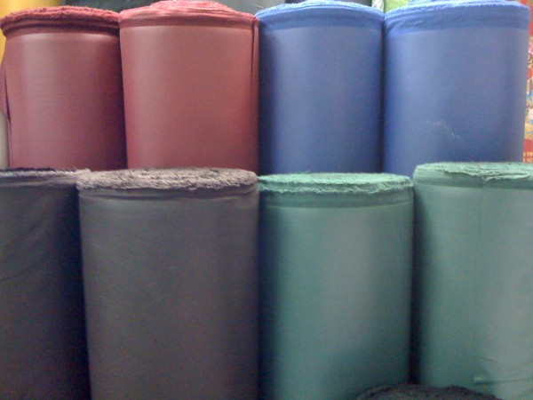 Tarpaulin for shrimp feeding